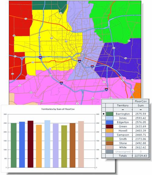 Sales Territory Maps, Customer Market ysis Maps ... on sales territories map, service map, vendor map, city map, zip code map, sales influence map, sales forms,